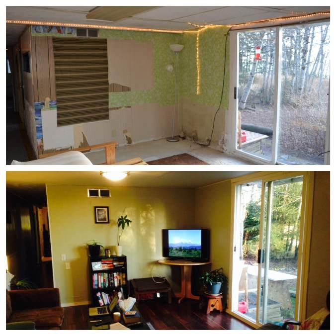 livingroombeforeandafter