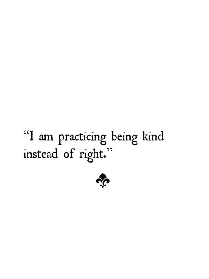 kind instead of right